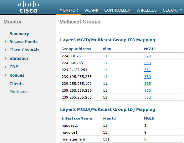 Configuring Multicast on WLC | mrn-cciew