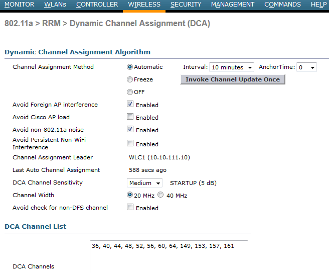 Configuring DCA   mrn-cciew
