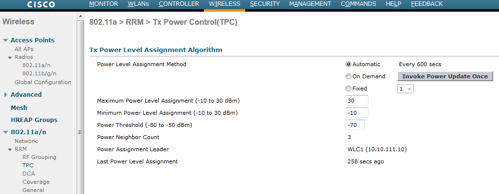 Configuring TPC | mrn-cciew