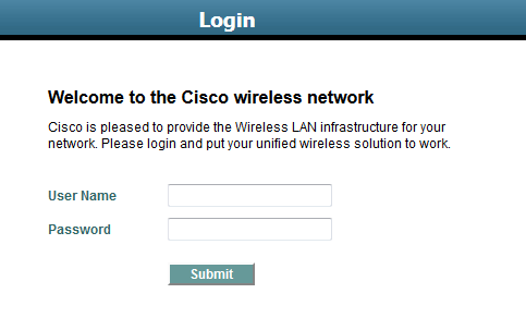 WLC – Web Authentication | mrn-cciew