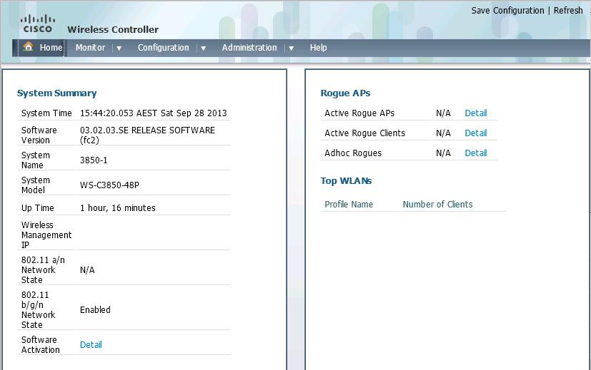 WLC Enable on Cisco 3850 | DarkCloudGroup