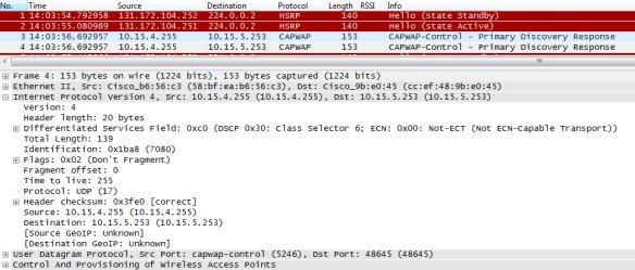 Wireshark Captures in 3850 | mrn-cciew