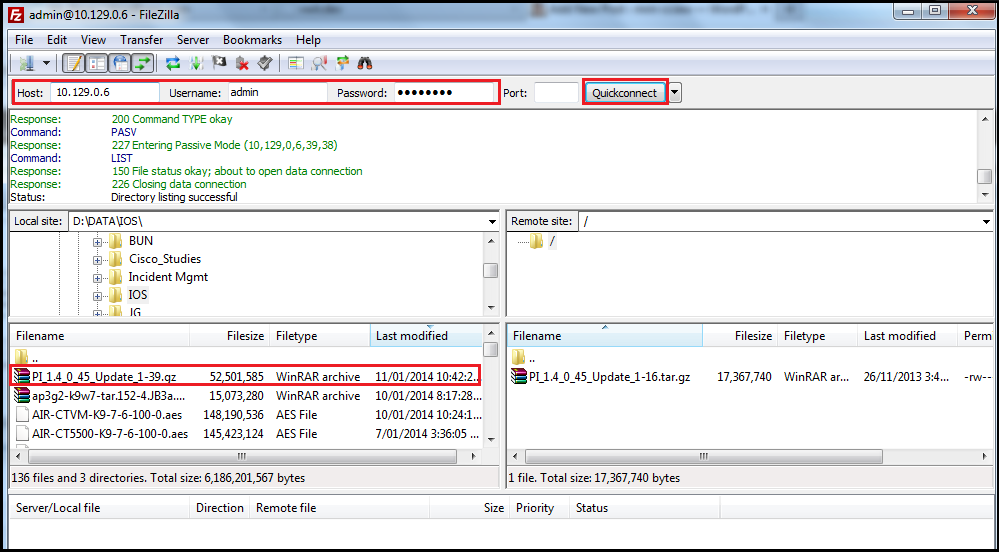 Upgrade Prime using CLI   mrn-cciew