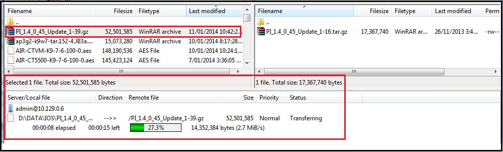 Upgrade Prime using CLI | mrn-cciew