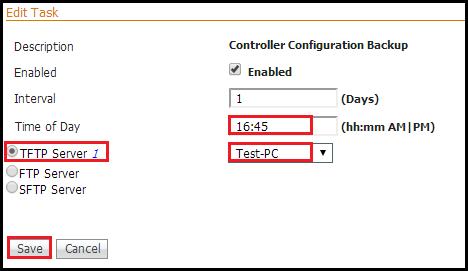 WLC Config Backup using Prime | mrn-cciew
