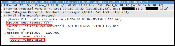 Did you notice slow TFTP in 3850 ?   mrn-cciew