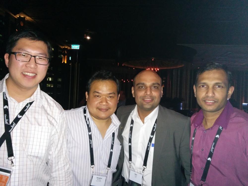 CiscoLive 2014 - Melbourne (5/6)