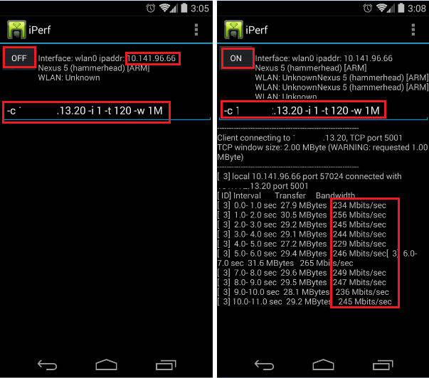 How Fast is your Network - iPerf ? (6/6)