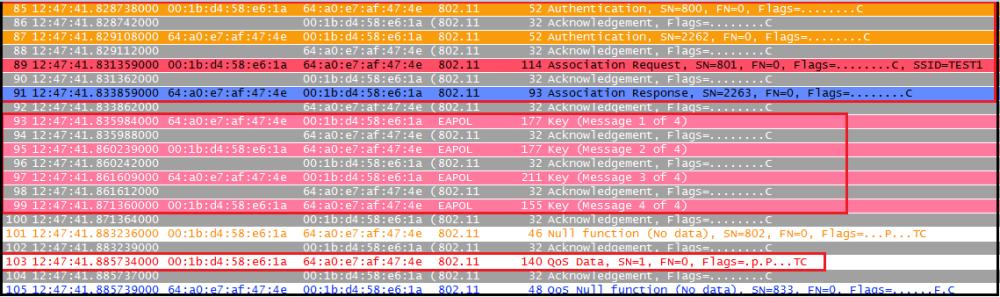Decrypt WPA2-PSK using Wireshark (2/6)