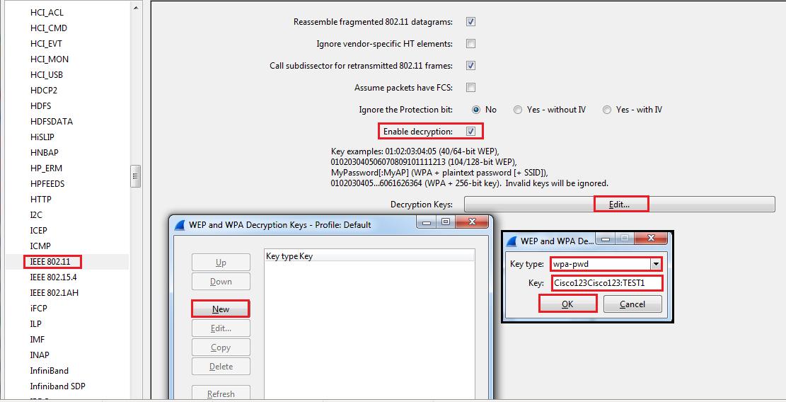 Decrypt WPA2-PSK using Wireshark | mrn-cciew