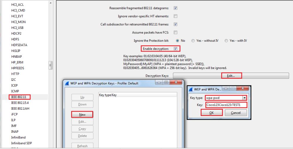 Decrypt WPA2-PSK using Wireshark (6/6)