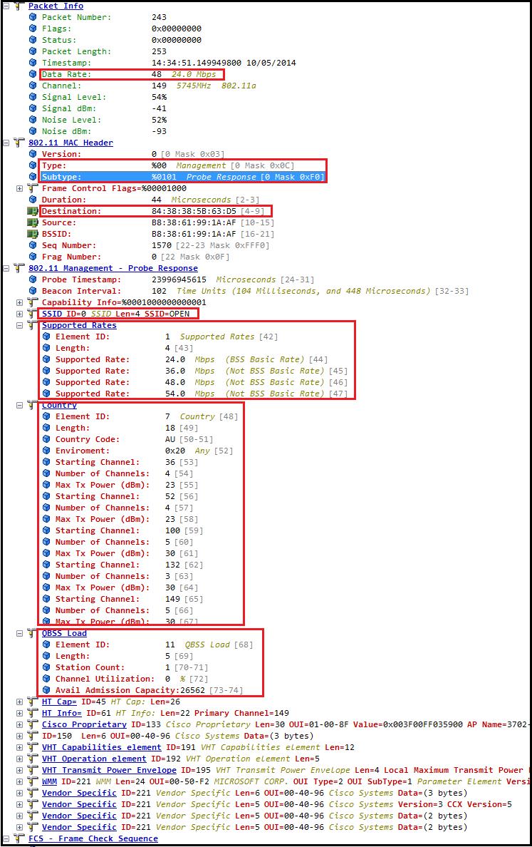 CWAP 802.11- Probe Request/Response | mrn-cciew